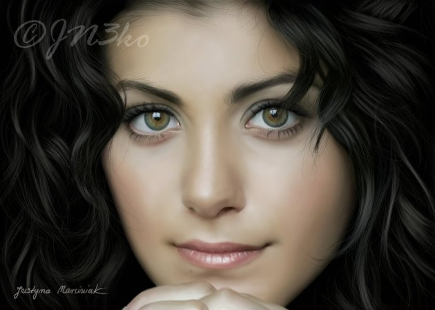 Digital Painting - Katie Melua