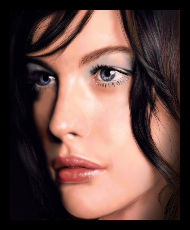 Digital Painting - Liv Tyler