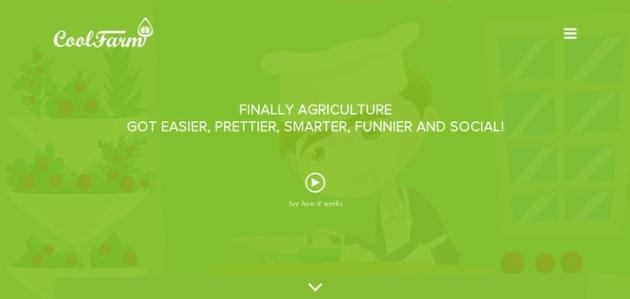 Green Website Design - CoolFarm