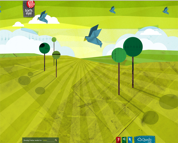 Green Website Design - Tori's Eye