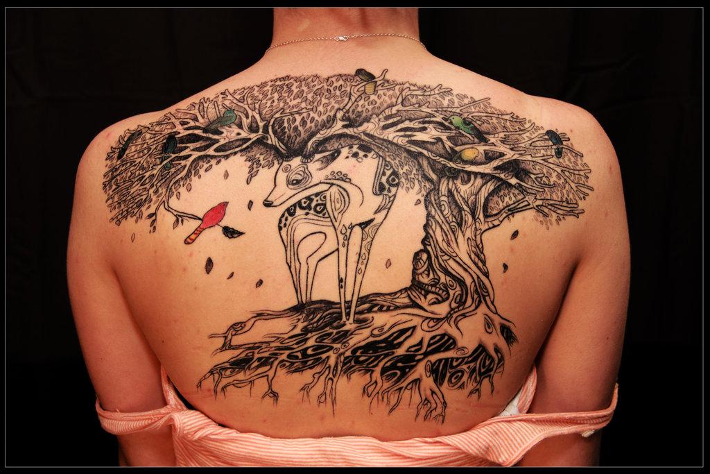 30+ Symbolic Tree Tattoo Designs