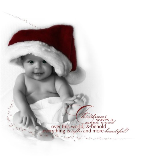 1 christmas card message