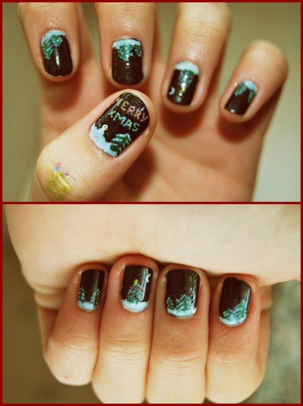 Merry xmas Nails