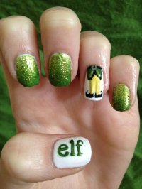 30 Best Christmas Nail Art Design Ideas Pictures 2015 ...