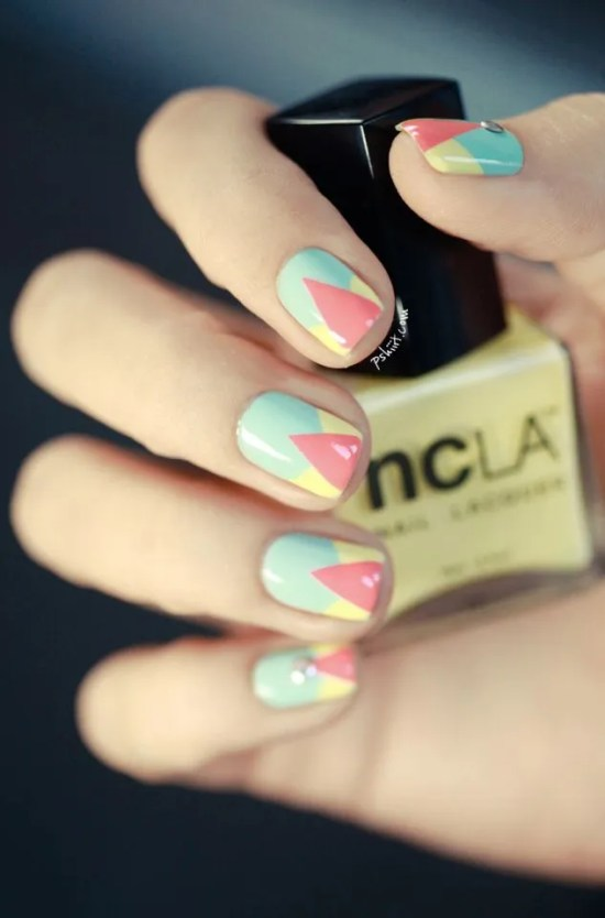cool pastel nails