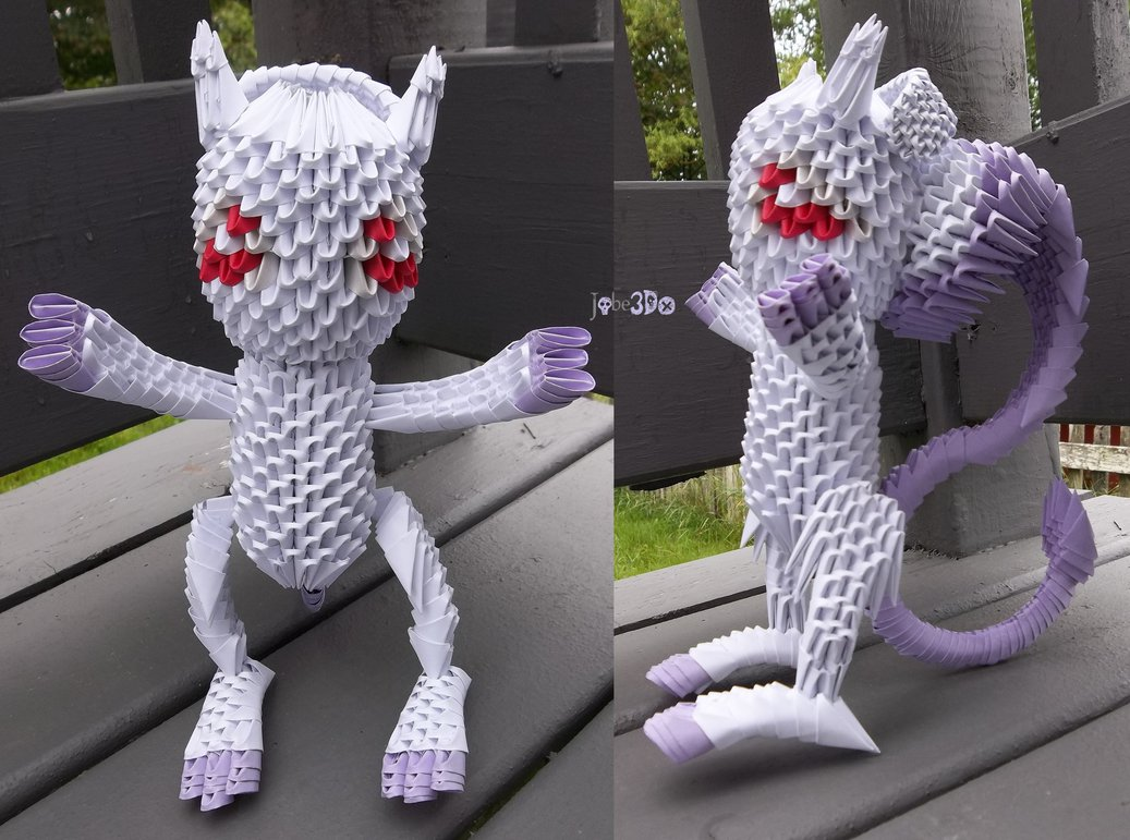 3D Origami Paper Art: 30+ Amazing Modular Character Crafts ... - photo#30