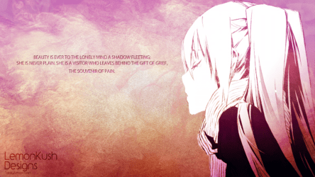 lonely anime quotes desktop loneliness cute wallpapers hd entertainmentmesh deviantart