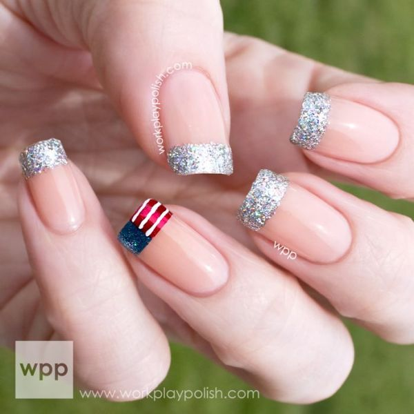 Happy Fourth Of July Nails