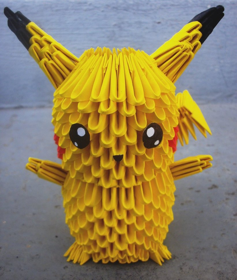 3d Origami Paper Art 30 Amazing Modular Character Crafts