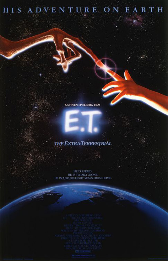 E.T. - great movie poster design