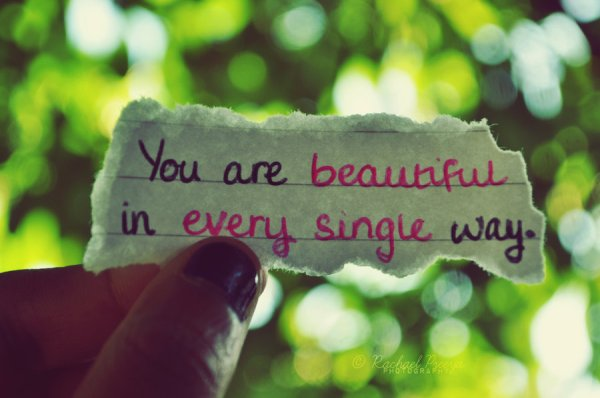 You are beautiful 3