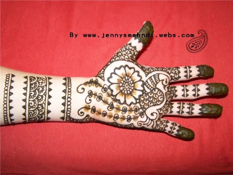 One Flower Mehndi : Floral mehndi henna designs for girls hands