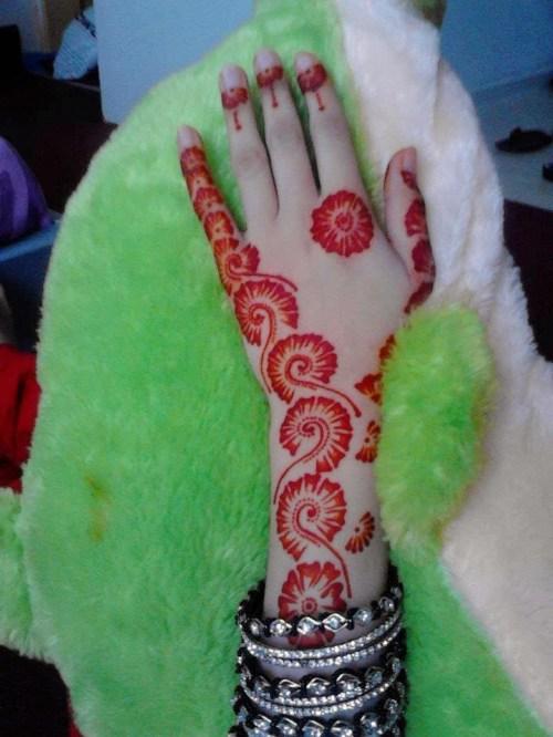 gorgeous henna for eid 2015