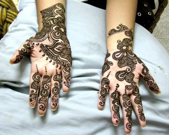 cool arabic mehndi designs