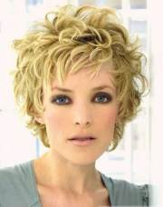 cute hairstyles short curly