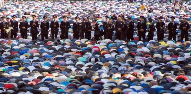 Eid Ul Fitr Prayers 2015 Moscow Russia