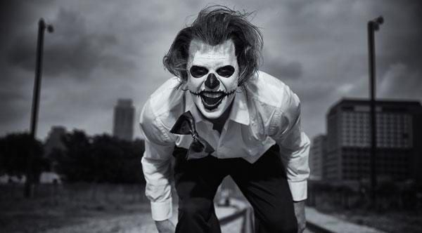 evil clown picture
