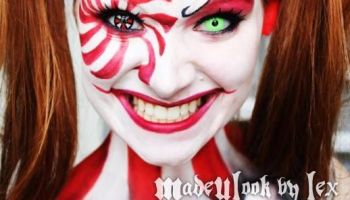 20 scary clown face paint ideas for halloween 2015
