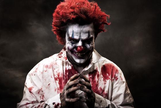 horror scary clowns