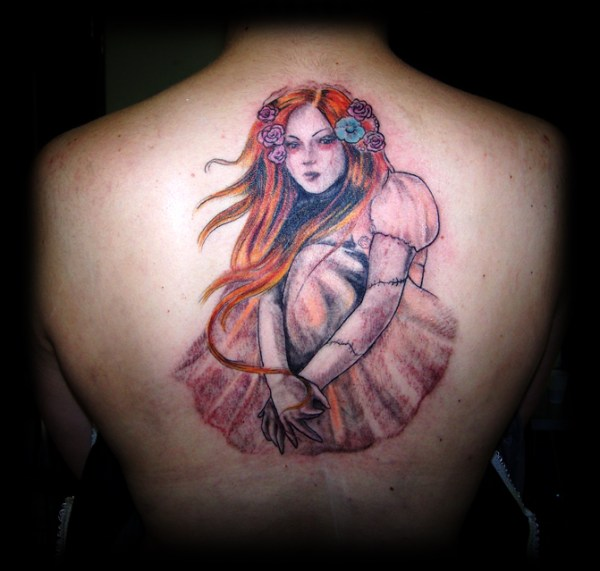 Tattoo Gothic Woman: 30+ Best Design Ideas Of Gothic Tattoos For Men And Women