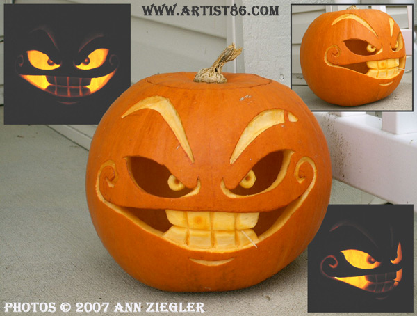 Cool and easy pumpkin carving ideas for halloween day