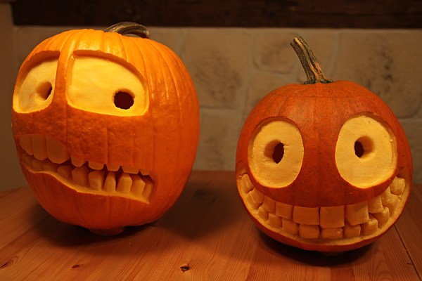 simple pumpkin carving ideas for halloween