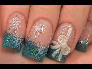 gorgeous winter nail design