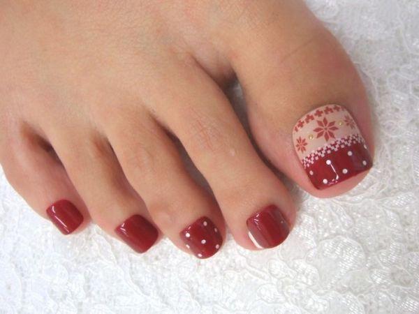 gorgeous winter nails
