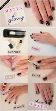 simple and easy diy nail art