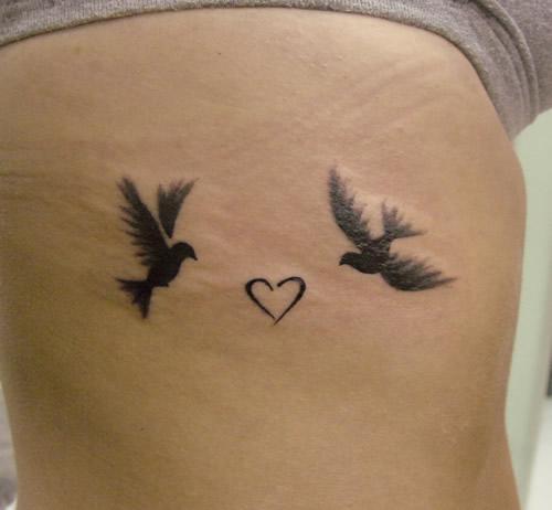 elegant bird tattoo design ideas