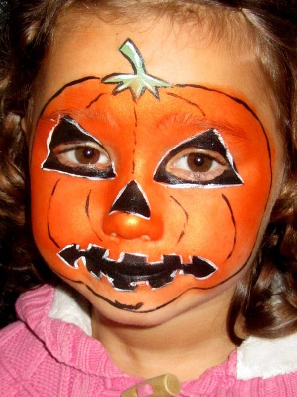 Ideas Paint Kids Faces Halloween Day