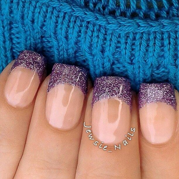 top 7 purple nail design