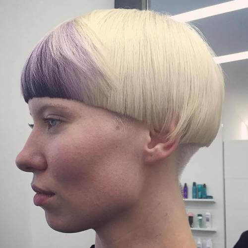 Round Cut Mushroom Style