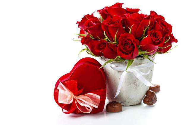 roses love basket