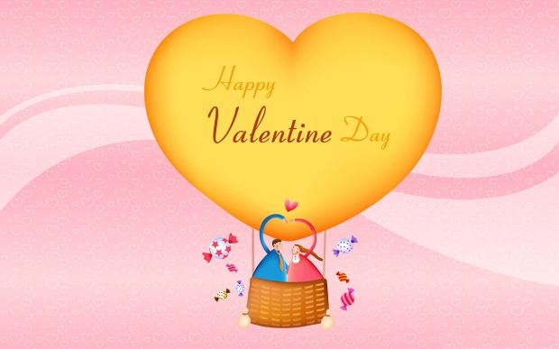 Happy Valentine Day cute wallpaper