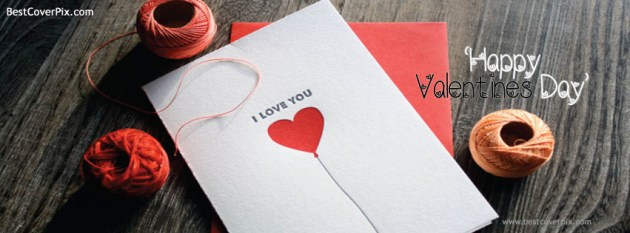 i love you happy valentines day cover photo