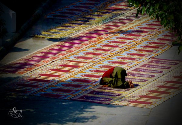 prayer sajda in namaz