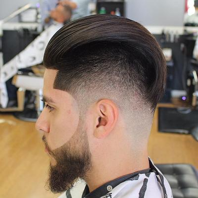 10-Slicked Back Hairstyles For Men