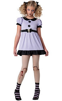 13-Evil Halloween Costumes for Girls