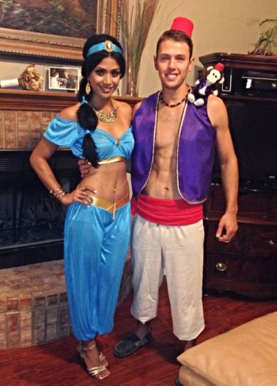 DIY cute Funny character Couples Halloween Costume Ideas