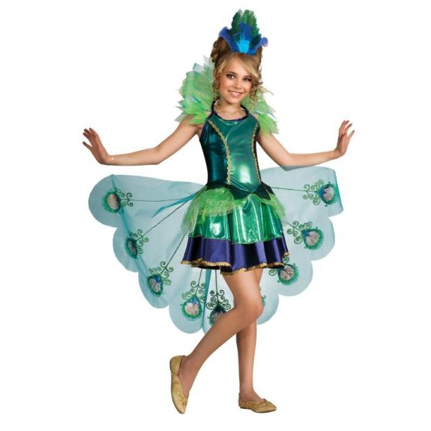 Peacock Girl costume ideas for halloween