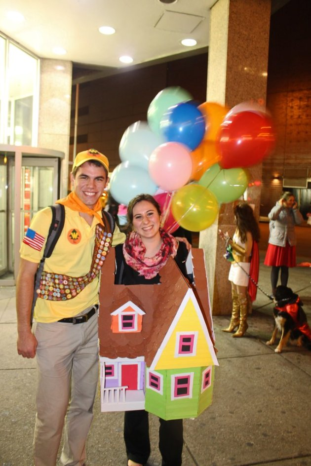 cheap diy couples halloween costume
