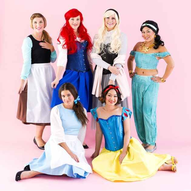 disney-princess-group-halloween-costume