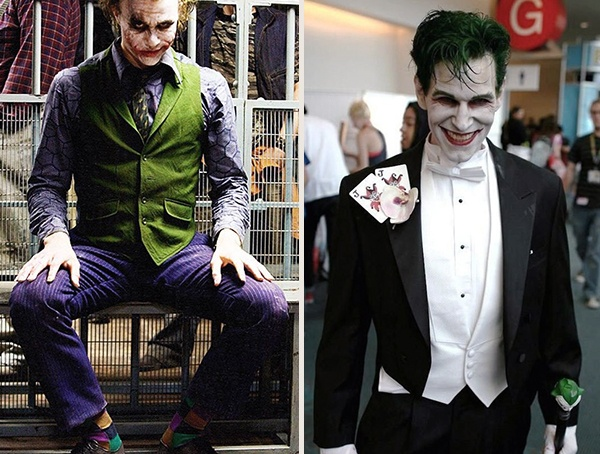 Cool Joker Halloween Men Costumes