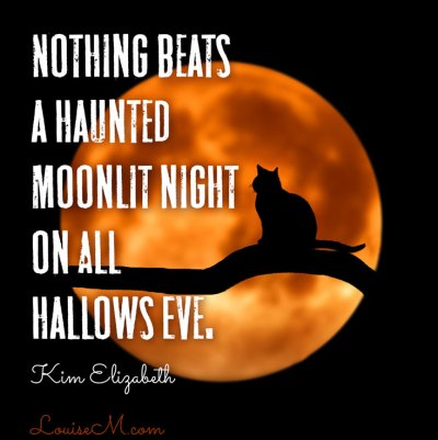 nothing beats a haunted moonlit night on all hallows eve