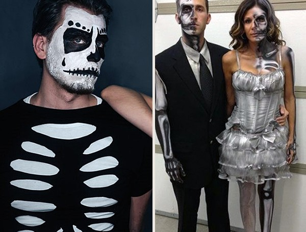 Skeleton Halloween Costume Ideas
