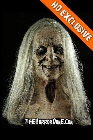 Frightening Halloween Mask- Old Witch Woman
