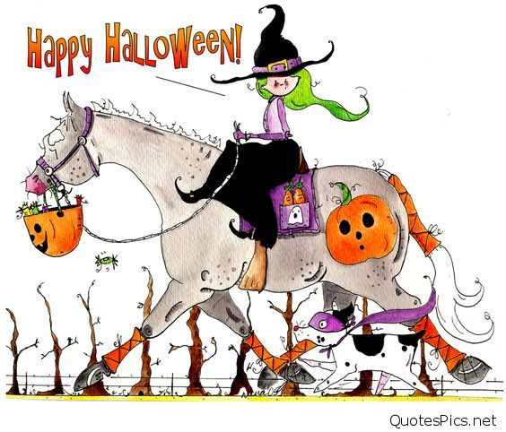 Happy Halloween funny cartoon images