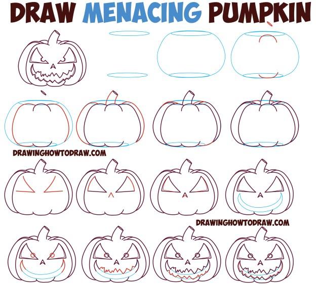 Menacing Pumpkin Tutorial