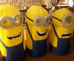diy despicable me minions costume